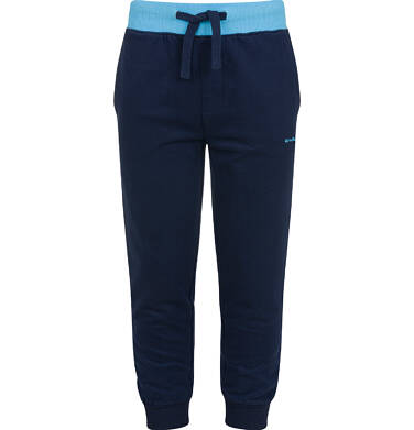Endo - Spodnie dresowe dla chłopca, granatowe, 2-8 lat C03K052_1 13