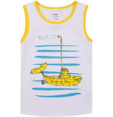 Endo - T-shirt bez rękawów dla chłopca 9-13 lat C71G643_1