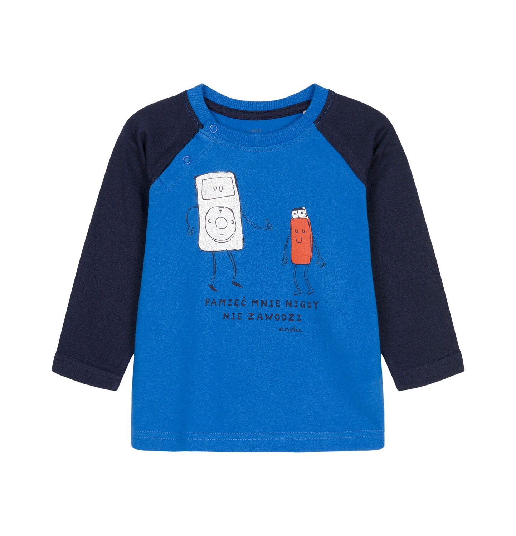 Endo - T-shirt z długim rękawem dla dziecka 0-3 lata N92G076_1