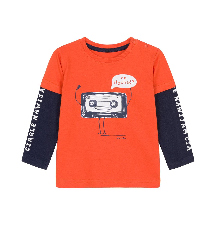 Endo - T-shirt z długim rękawem dla dziecka 0-3 lata N92G077_1