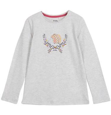 Endo - Bluzka z długim rękawem dla dziewczynki 3-8 lat D62G055_1