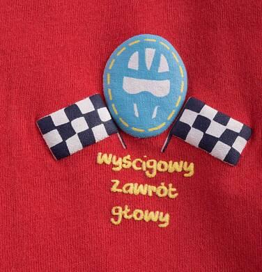 Endo - T-shirt z kontrastowym wykończeniem dla chłopca 9-13 lat C71G556_1