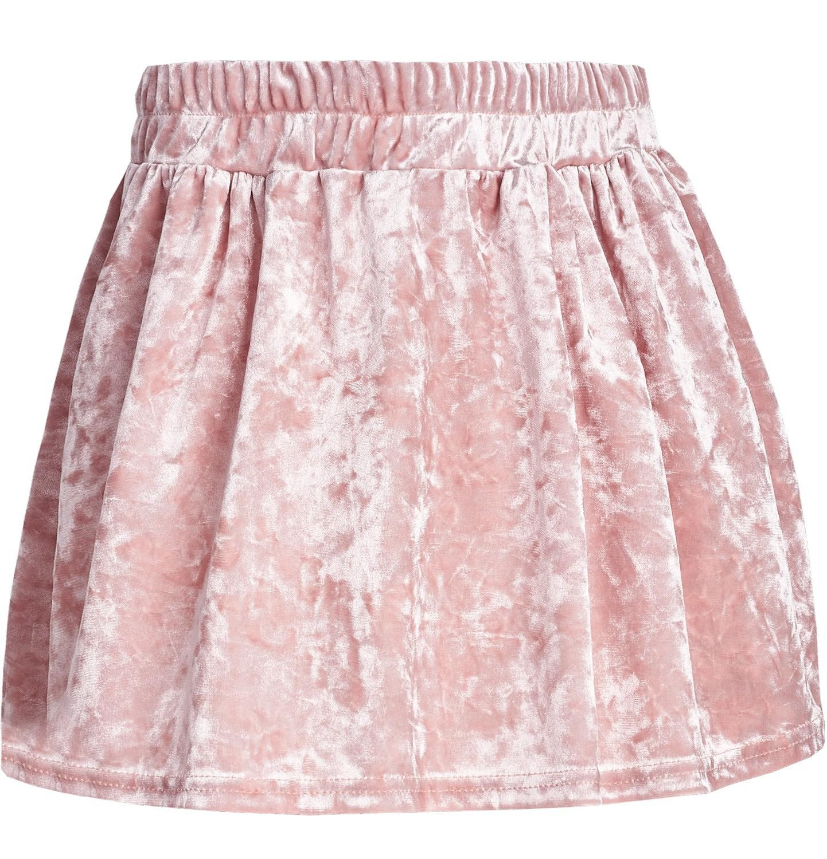 Endo - Welurowa spódnica dla dziewczynki 3-8 lat D82J516_2