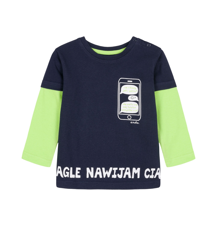 Endo - T-shirt z długim rękawem dla dziecka 0-3 lata N92G078_1