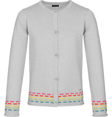 Endo - Sweter rozpinany dla dziewczynki 9-13 lat D91B509_1