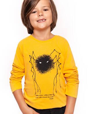 Endo - T-shirt z długim rękawem dla chłopca 3-8 lat C92G078_1