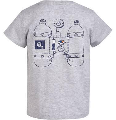Endo - T-shirt z grafiką przód/tył  dla chłopca 3-8 lat C81G115_1