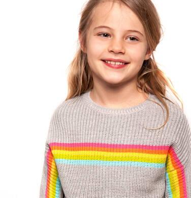 Endo - Sweter dla dziewczynki 9-13 lat D91B510_1