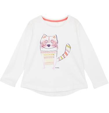 Endo - Bluzka z długim rękawem dla dziewczynki 3-8 lat D62G059_1