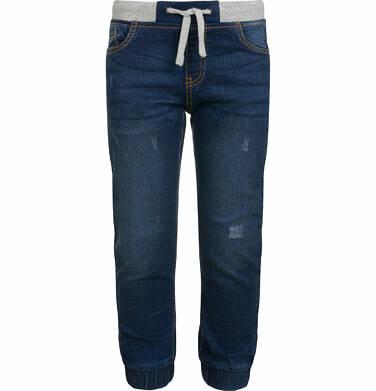 Endo - Spodnie jeansowe dla chłopca typu jogger, 9-13 lat C03K526_2