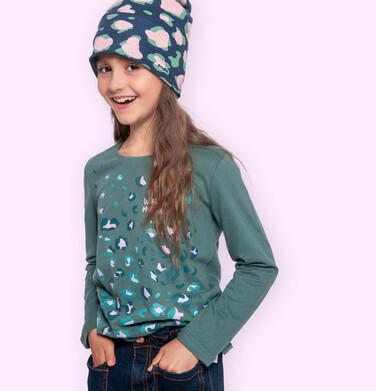 Endo - Bluzka dla dziewczynki z długim rękawem, kolorowy deseń, 2-8 lat D04G025_1 30