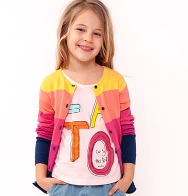 Endo - Sweter rozpinany dla dziewczynki 9-13 lat D91B511_1