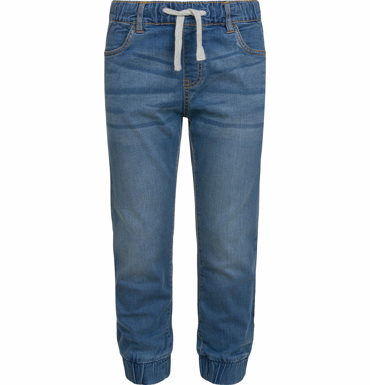 Endo - Spodnie jeansowe dla chłopca typu jogger, 2-8 lat C03K027_1