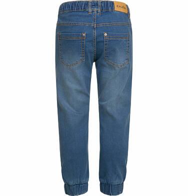 Endo - Spodnie jeansowe dla chłopca typu jogger, 2-8 lat C03K027_1,2
