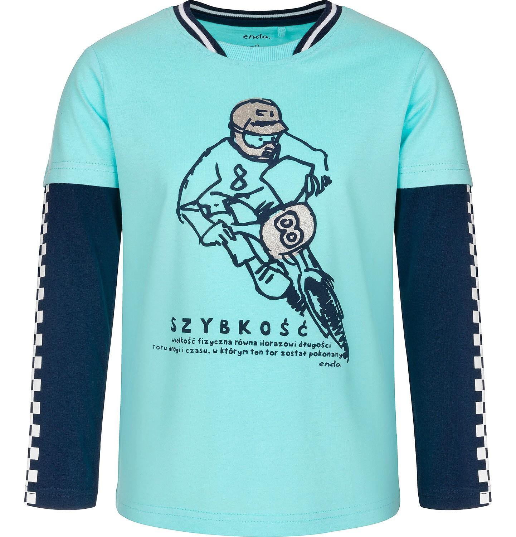 Endo - T-shirt dla chłopca 9-13 lat C91G508_1