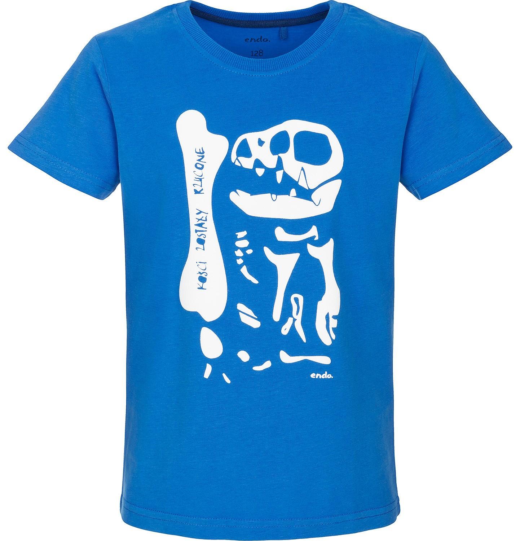 Endo - T-shirt z krótkim rękawem dla chłopca 9-13 lat C91G503_1