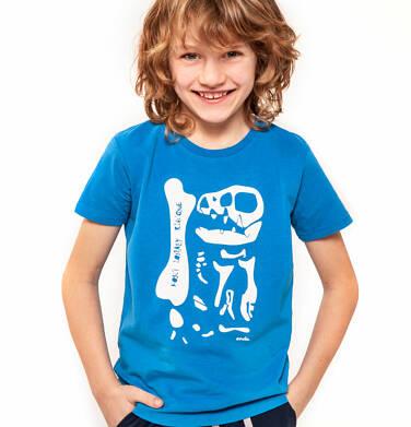 Endo - T-shirt z krótkim rękawem dla chłopca 9-13 lat C91G503_1,2