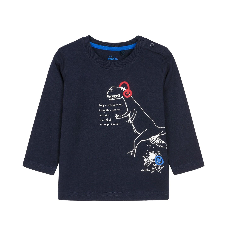 Endo - T-shirt z długim rękawem dla dziecka 0-3 lata N92G012_1