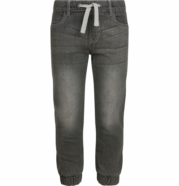 Endo - Spodnie jeansowe dla chłopca typu jogger, szare, 2-8 lat C03K027_2