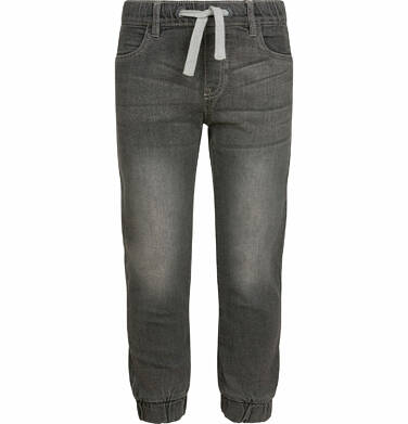 Endo - Spodnie jeansowe dla chłopca typu jogger, szare, 2-8 lat C03K027_2,1