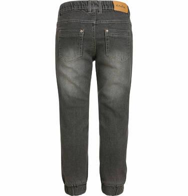 Endo - Spodnie jeansowe dla chłopca typu jogger, szare, 2-8 lat C03K027_2,2
