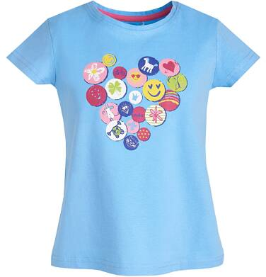 Endo - T-shirt dla dziewczynki 3-8 lat D81G037_2