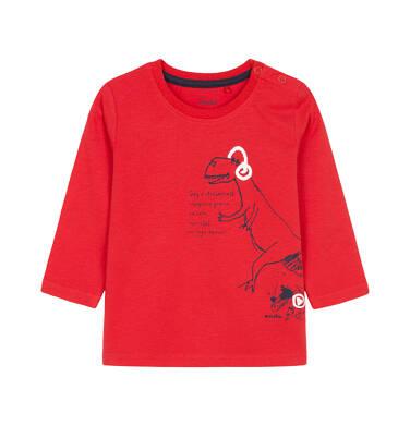 T-shirt z długim rękawem dla dziecka 0-3 lata N92G012_2