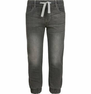 Endo - Spodnie jeansowe dla chłopca typu jogger, szare, 9-13 lat C03K527_2