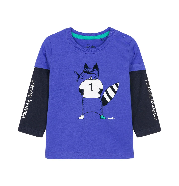 Endo - T-shirt z długim rękawem dla dziecka 0-3 lata N92G016_1