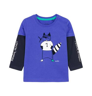T-shirt z długim rękawem dla dziecka 0-3 lata N92G016_1