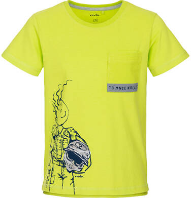 Endo - T-shirt z krótkim rękawem dla chłopca 9-13 lat C91G516_1