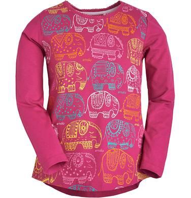 Endo - Bluzka z długim rękawem dla dziewczynki 3-8 lat D81G069_1