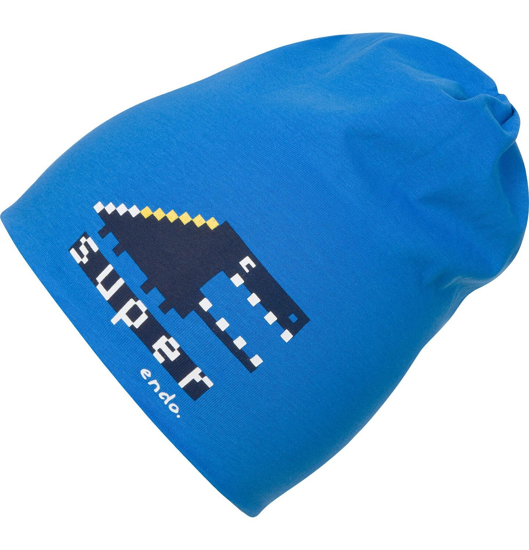 Endo - Czapka dla chłopca, niebieska C04R010_1