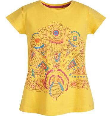 Endo - Bluzka z krótkim rękawem dla dziewczynki 3-8 lat D81G074_1