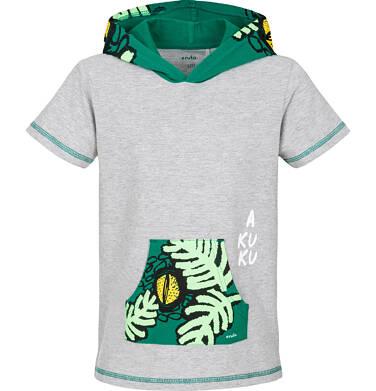 Endo - T-shirt z krótkim rękawem dla chłopca 9-13 lat C91G529_1,1