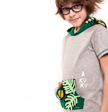 Endo - T-shirt z krótkim rękawem dla chłopca 9-13 lat C91G529_1,2