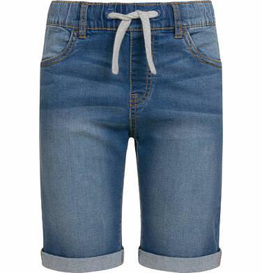Krótkie spodenki jeansowe dla chłopca, 2-8 lat C03K033_1