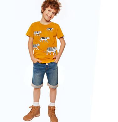 Endo - Krótkie spodenki jeansowe dla chłopca, 2-8 lat C03K033_1