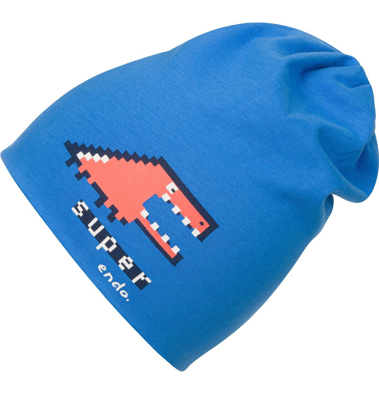 Endo - Czapka dla chłopca, niebieska C04R023_1