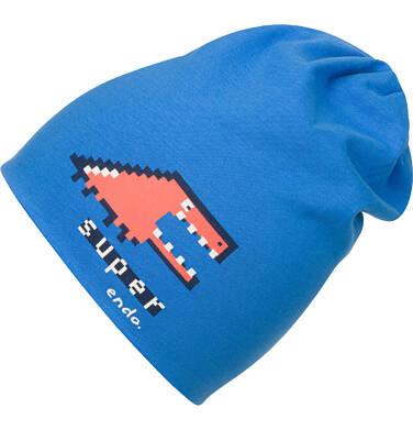 Czapka dla chłopca, niebieska C04R023_1
