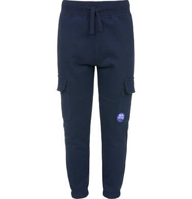 Spodnie dresowe dla chłopca, granatowe, 3-8 lat C92K016_1