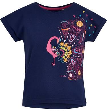 Endo - Bluzka z krótkim rękawem dla dziewczynki 3-8 lat D81G075_1