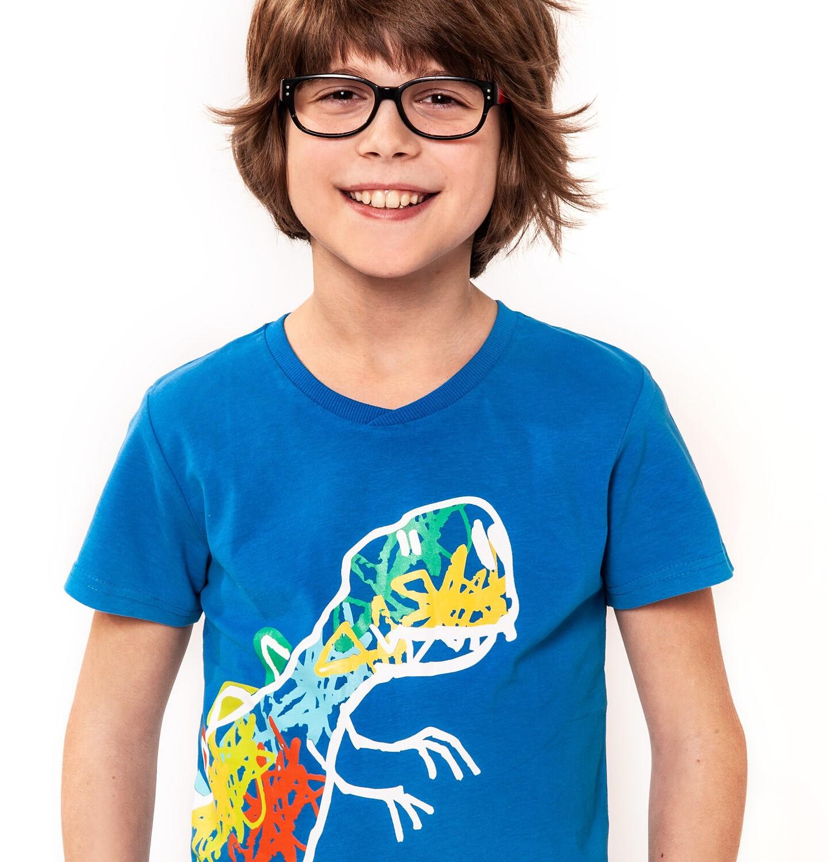 Endo - T-shirt z krótkim rękawem dla chłopca 3-8 lat C91G034_1