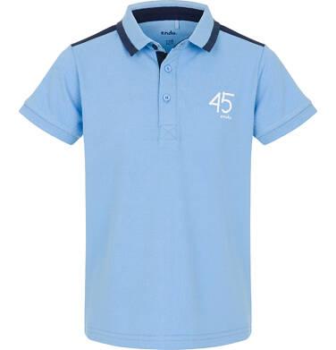 Endo - Koszulka polo dla chłopca 9-13 lat C91G555_2
