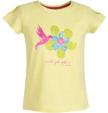 Endo - Bluzka z krótkim rękawem dla dziewczynki 3-8 lat D81G129_1