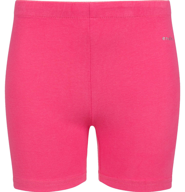 Endo - Krótkie legginsy dla dziewczynki, różowe, 2-8 lat D03K007_4