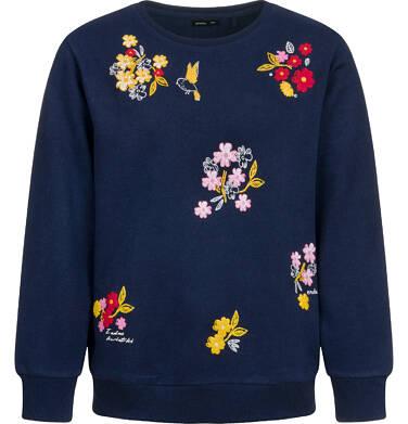 Endo - Bluza dla dziewczynki, kwiatowy motyw, granatowa, 9-13 lat D04C062_1 33