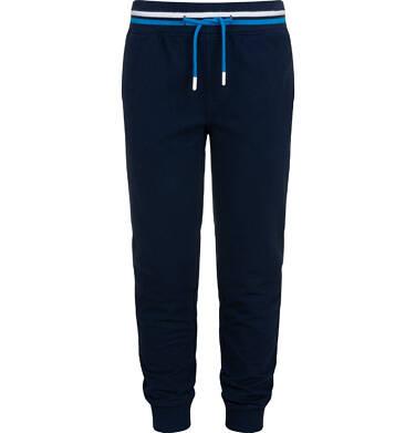 Spodnie dresowe dla chłopca, ciemnogranatowe, 9-13 lat C05K016_2