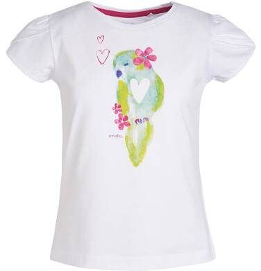 Endo - Bluzka z krótkim rękawem dla dziewczynki 3-8 lat D81G130_1