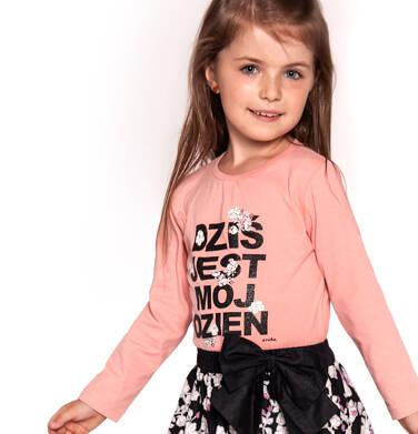 Bluzka z długim rękawem dla dziewczynki 3-8 lat D92G009_1
